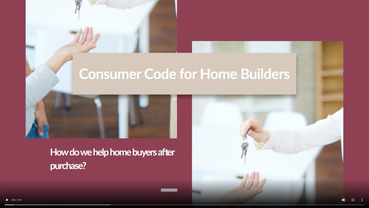 Helping buyers after occupation