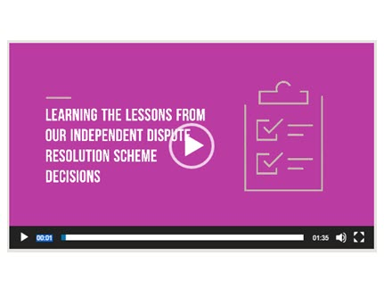 Video: learning lessons from complaints